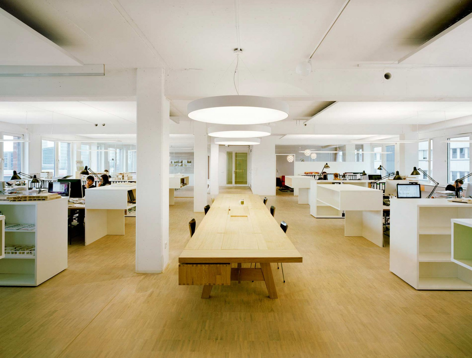 Unser Zuhause: Umbau einer Büroetage für die eigene Nutzung - trapez ...