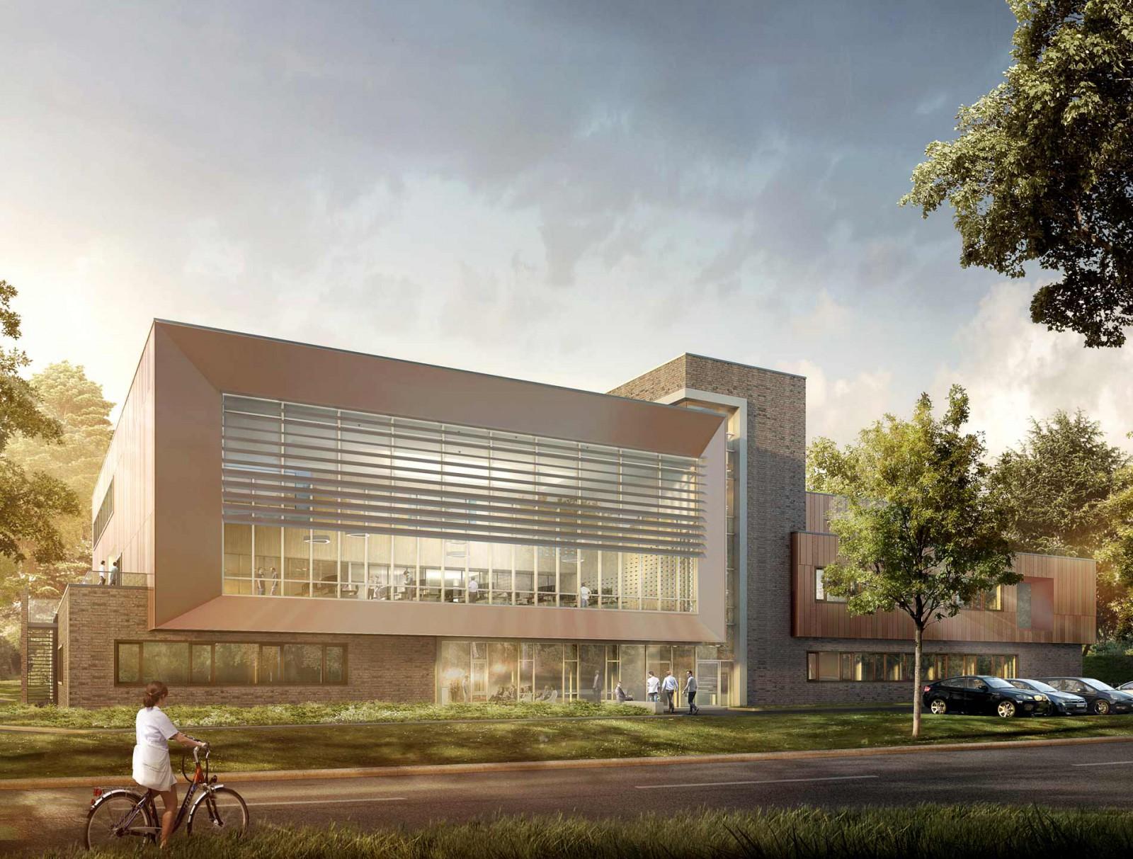 Neubau der Kooperativen Regionalleitstelle West in Elmshorn - trapez ...