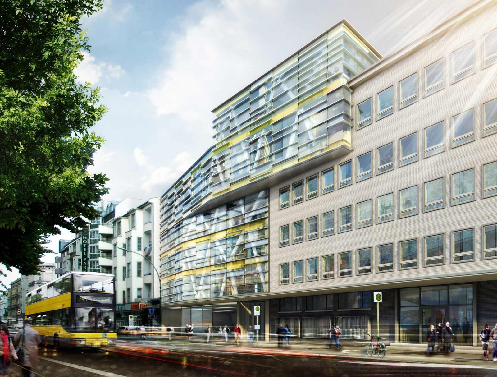 Entwurf einer neuen Leitstelle für den Berliner U-Bahn-Betrieb ...